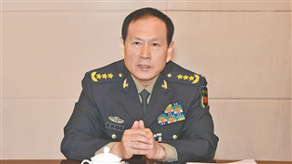 Chinese defense minister holds phone talks with Russian, Cambodian counterparts