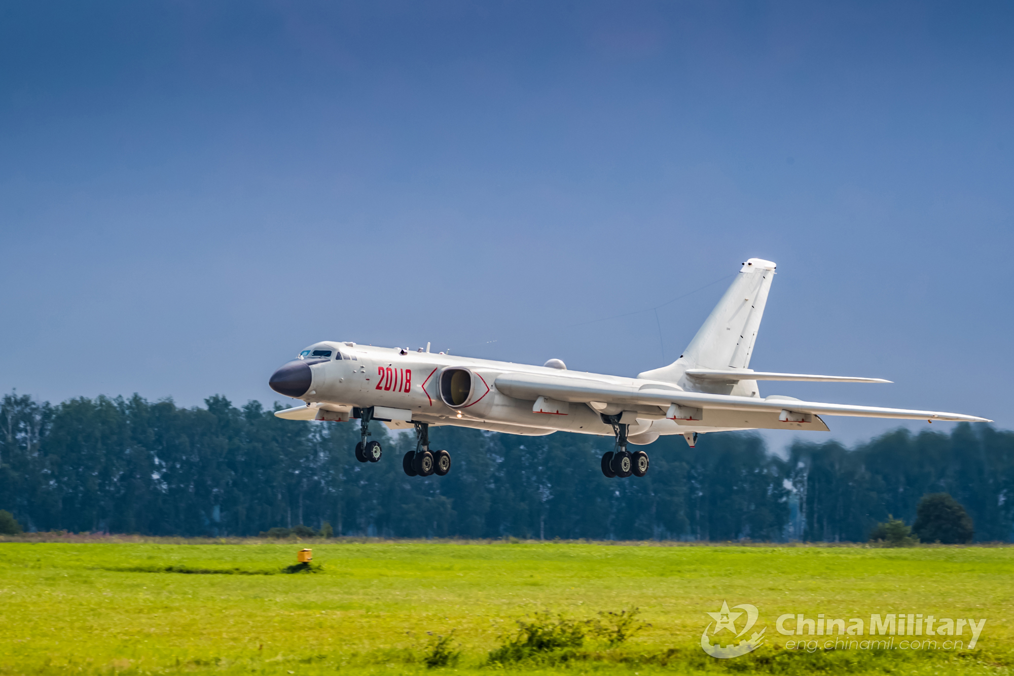 In pics: Chinese Air Force aircraft arrive in Russia for